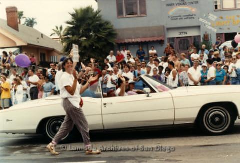 San Diego Pride Parade 1998: