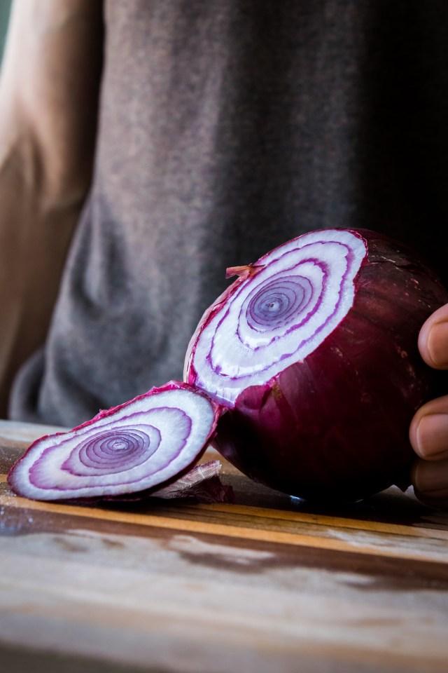 onion circles