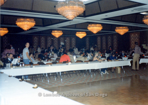 1983 - Imperial Court de San Diego Coronation Ball: The Coronation Banquet.
