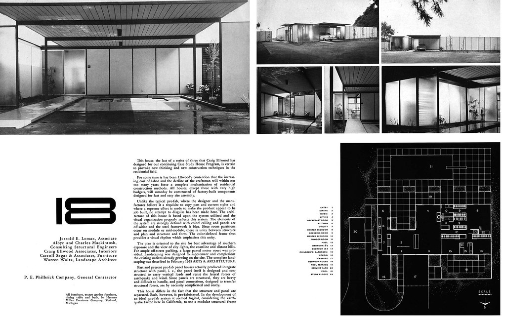 Craig Ellwood Case Study House No 18 2 Of 5 Arts Amp Ar Flickr