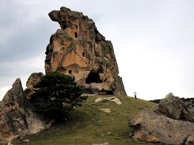 Gökhan and Osman from Eskişehir were too scared to go to the top by bryandkeith on flickr