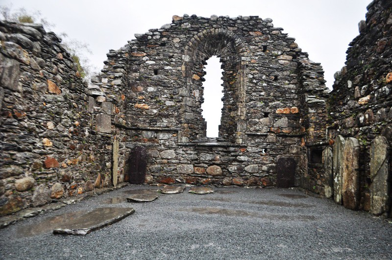 Travel to Ireland: Wild Wicklow Tour, Abbey in Glendalough