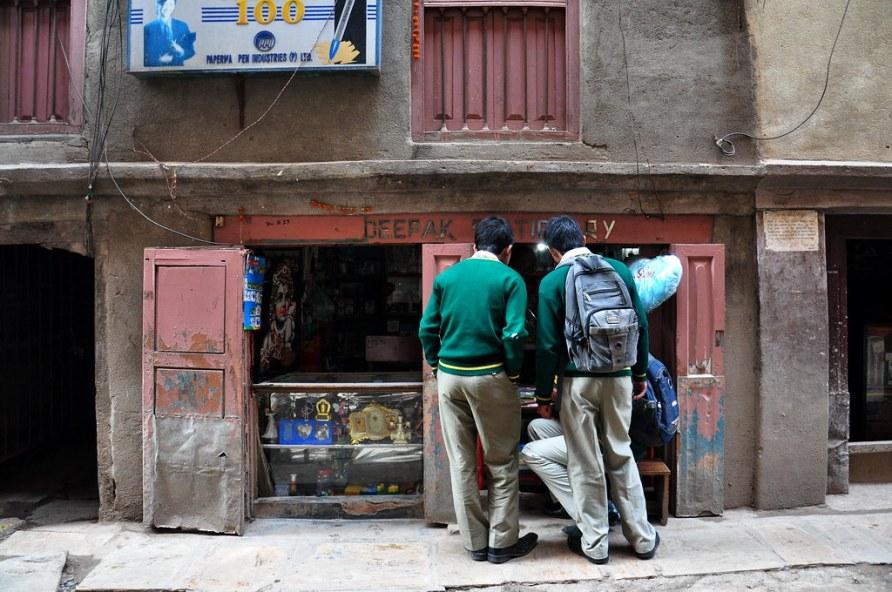 Nepal - Kathmandu - Streetlife - Shop - 27