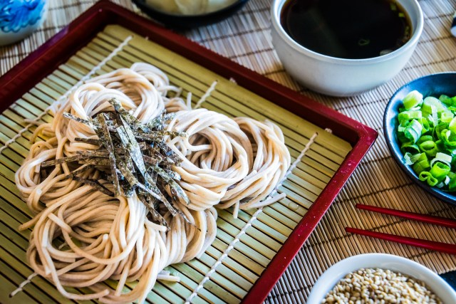 cold noodles for a hot summer day
