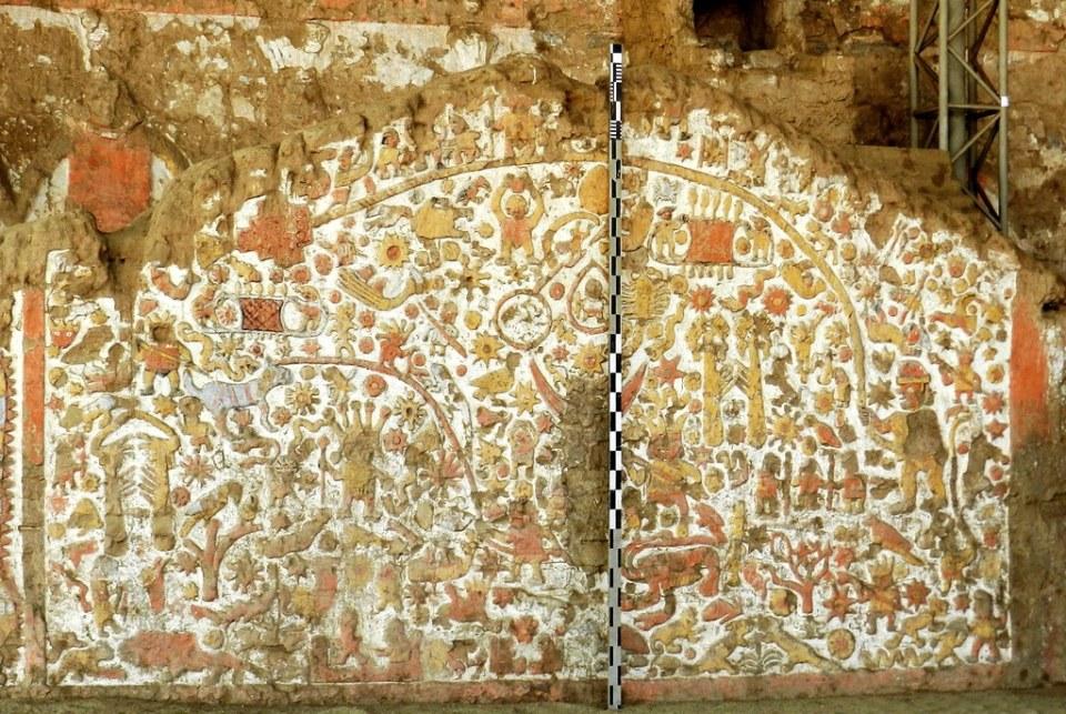 Huaca de la Luna mural de los mitos Trujillo Perú 08