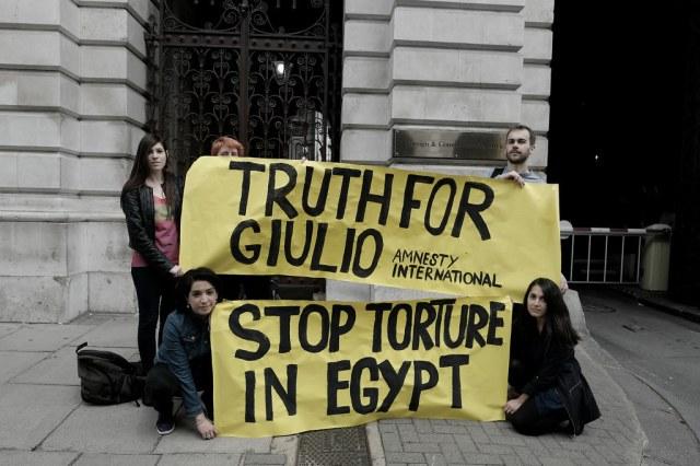 Five months after Giulio Regeni's brutal abduction, tortur… | Flickr