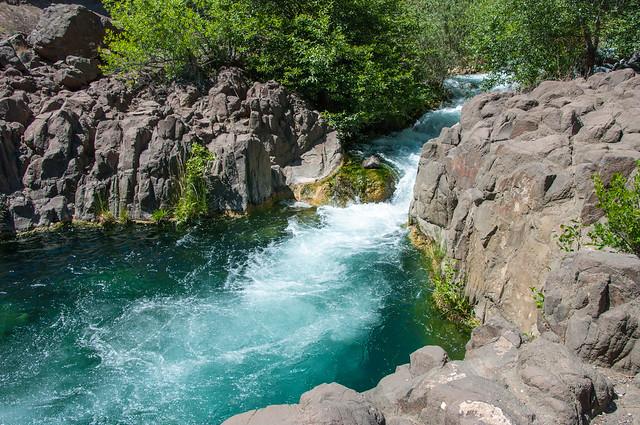 Waterfall Trail on Fossil Creek