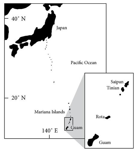 Location of Guam