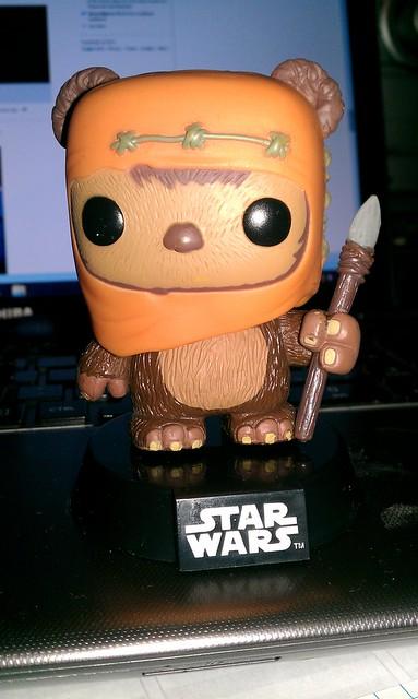 063/365 [2014] - Mini Ewok Bobblehead