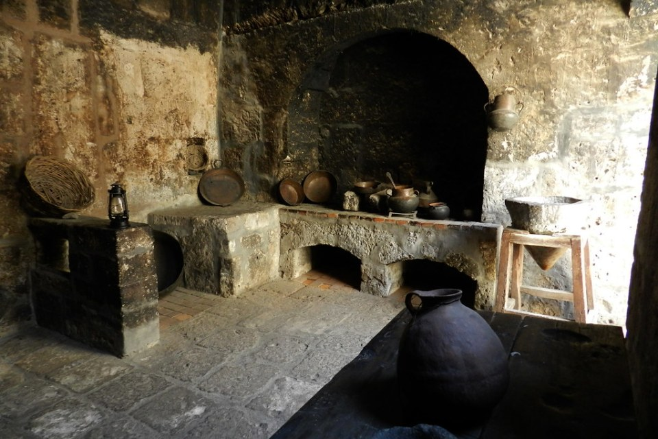 Arequipa Convento de Santa Catalina cocina antigua Peru 02