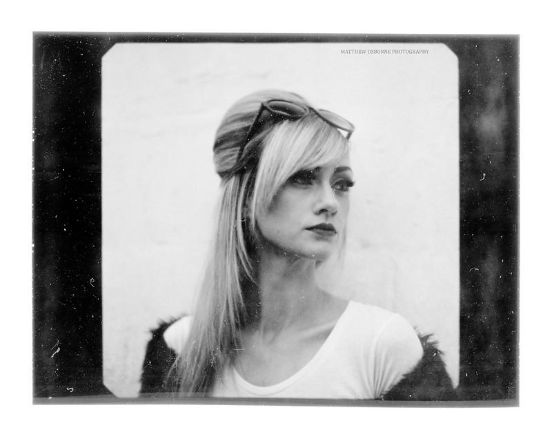 Mamiya RZ Polaroid