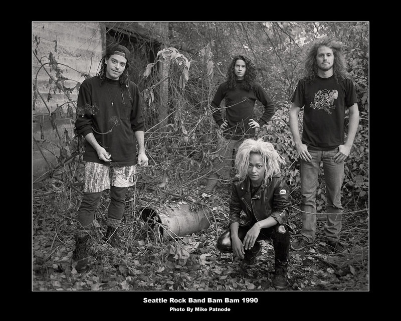 Bam Bam  Rock Band from Seattle photo 1990