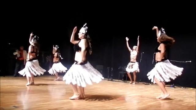 Raices de Chile Fentrepu - Cuatro de la Isla de Pascua 01 - II Encuentro Intercultural Virgen de Coromoto
