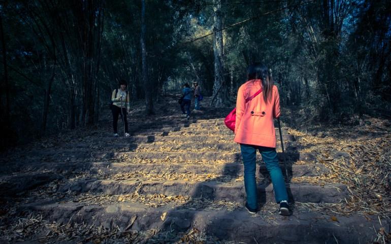 ทางเดินขึ้น อุทยานแห่งชาติภูกระดึง - Phu Kradueng National Park