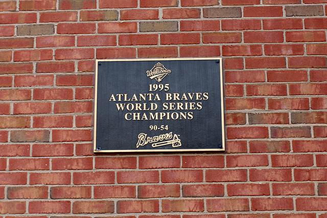 Atlanta - Turner Field: Monument Grove - 1995 World Series Champions