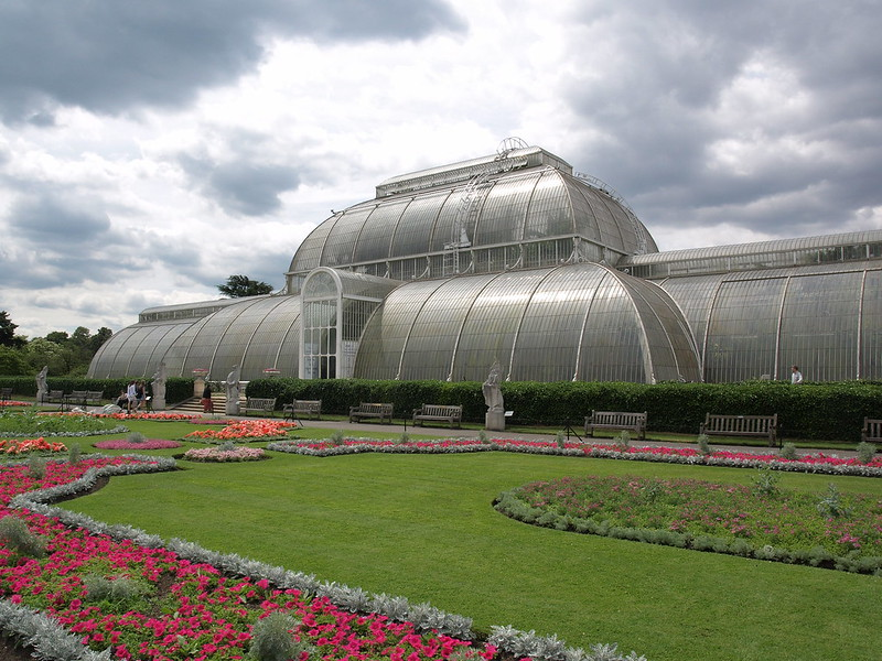 Greenhouse in Kew Gardens