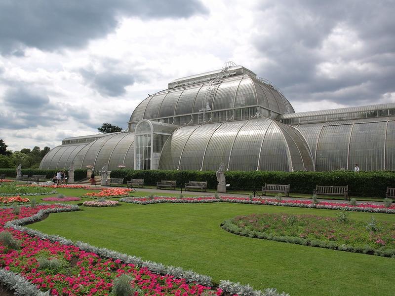 Greenhouse in Kew Gardens