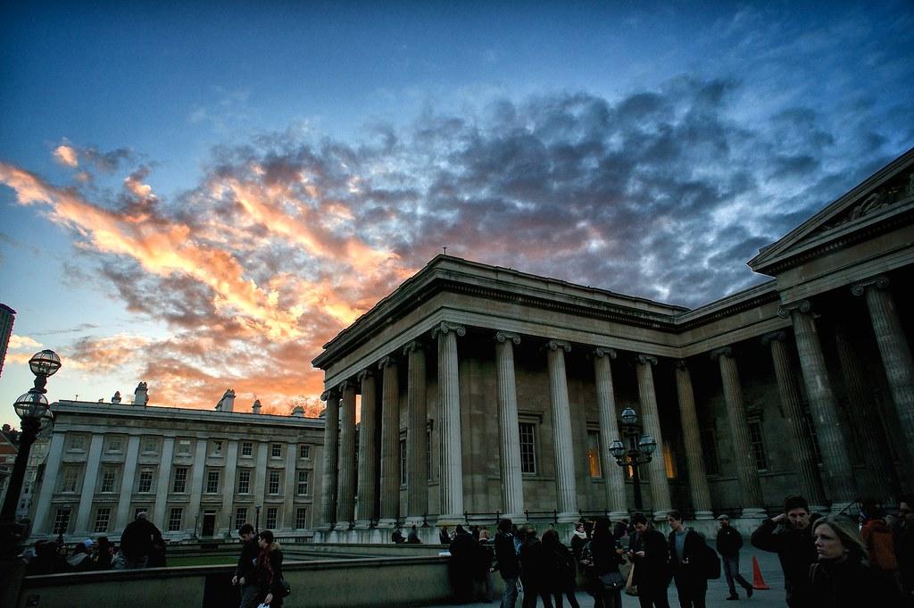 British Museum at sunset