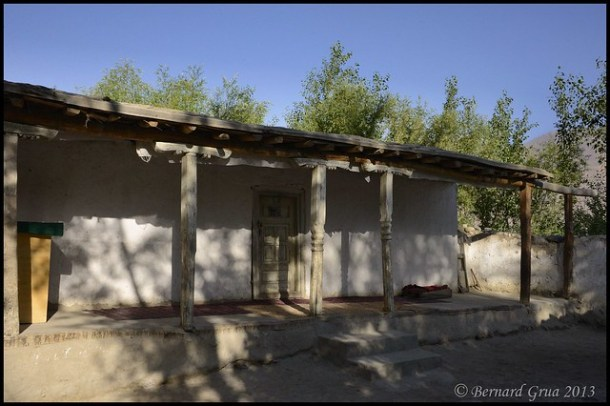 Jama't khana (congregational place for prayers) in Khandud | Wakhan corridor | Afghanistan | © Bernard Grua