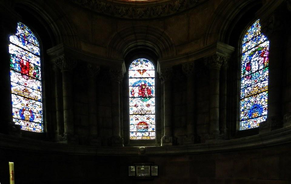 Catedral Santa Ana vidrieras Belfast Ulster Irlanda del Norte 02