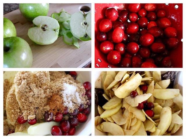 Apple Cranberry Galette - 39