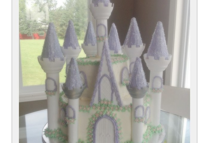 Princess Castle Cake Miss Catty Cakes Cake Design Flickr
