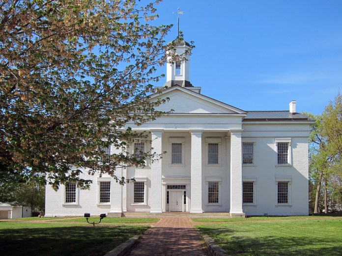 Illinois Statehouse at Vandalia