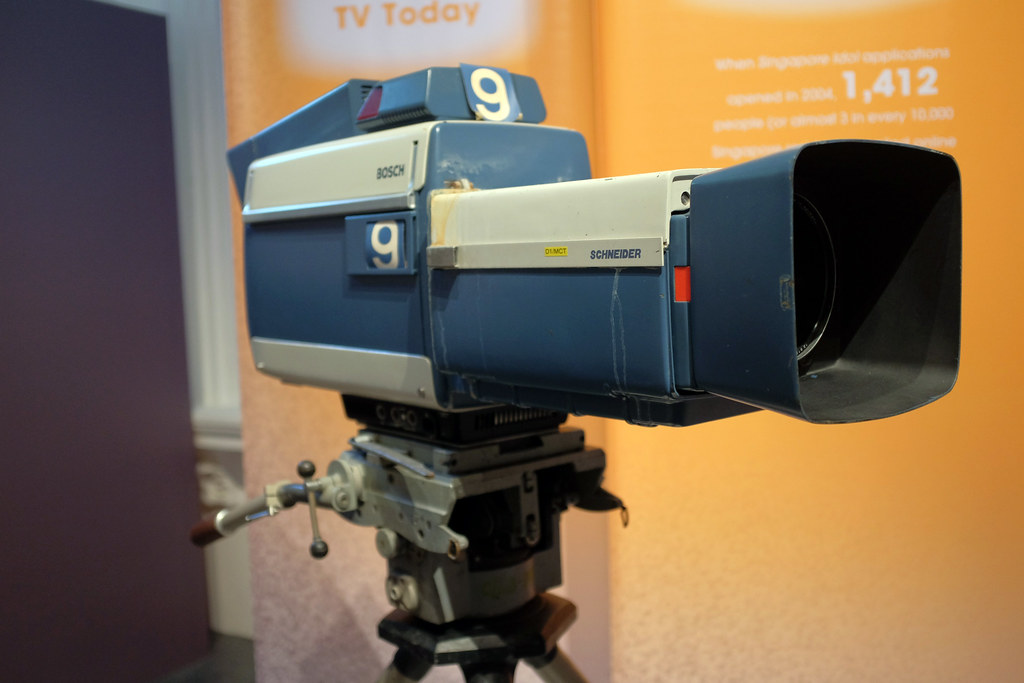 Bosch Colour Tv Camera 1974 50 Years Of Television An