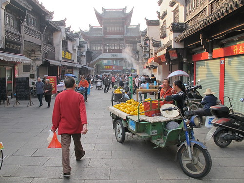 Old part of Lanxi