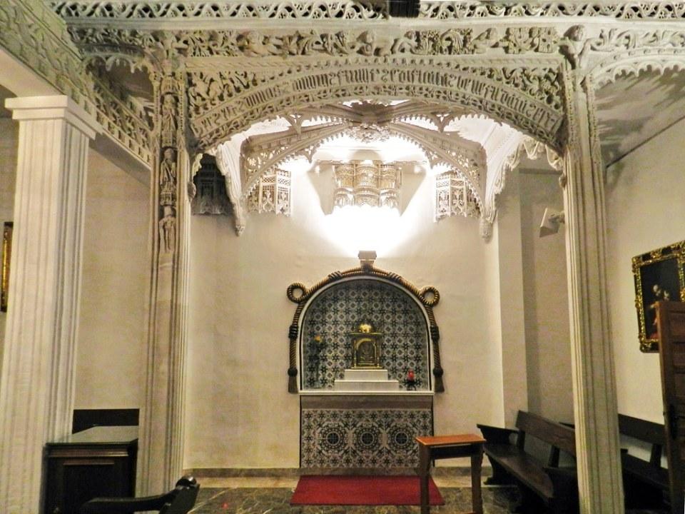 tabernaculo Coro Monástico Iglesia Santa Clara o Nuestra Señora de los Angeles Astudillo Palencia 09