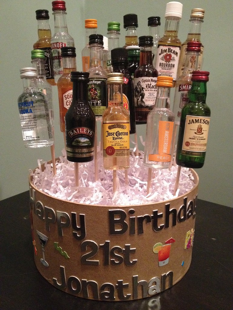 21st Birthday Cake Ideas With Alcohol Free Image Of 21st B Flickr
