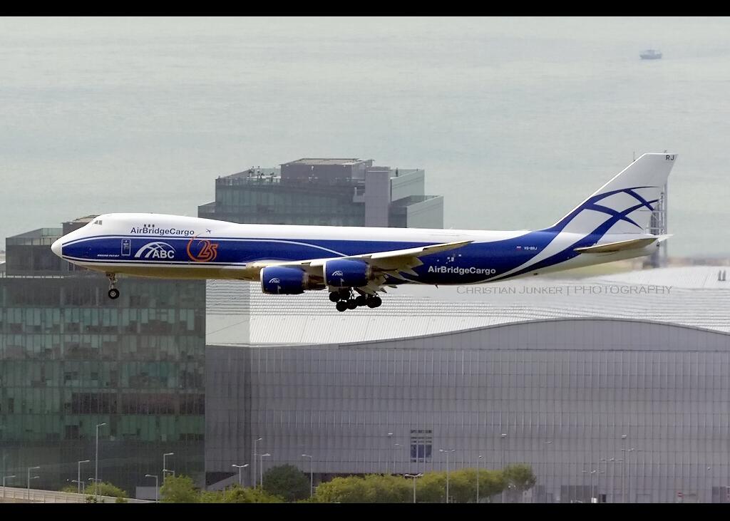 B747-8/F | AirBridgeCargo | VQ-BRJ | HKG