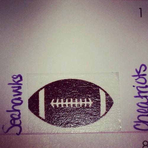 #stickers #sticker #football #superbowl #seahawks #cheatriots #janplannerchallenge #plannernerd #planneraddict #plannerobsessed #lifeplanner #weloveec #wlecweekly #iloveec #elcp #ErinCondren #washitape #washi