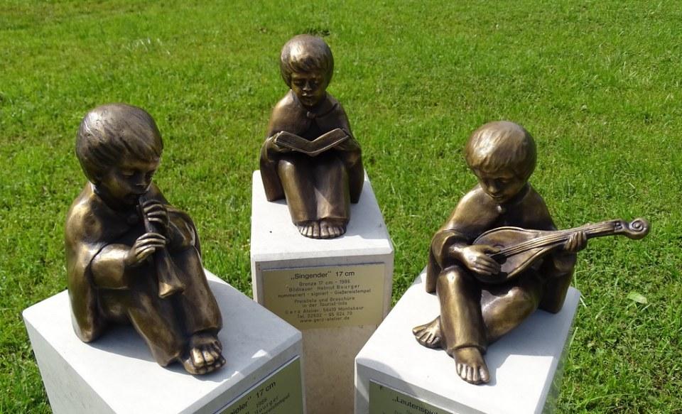 Esculturas en la calle Bad Wiessee Baviera Alemania 21
