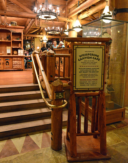Lobby of Wilderness Lodge, November 2014
