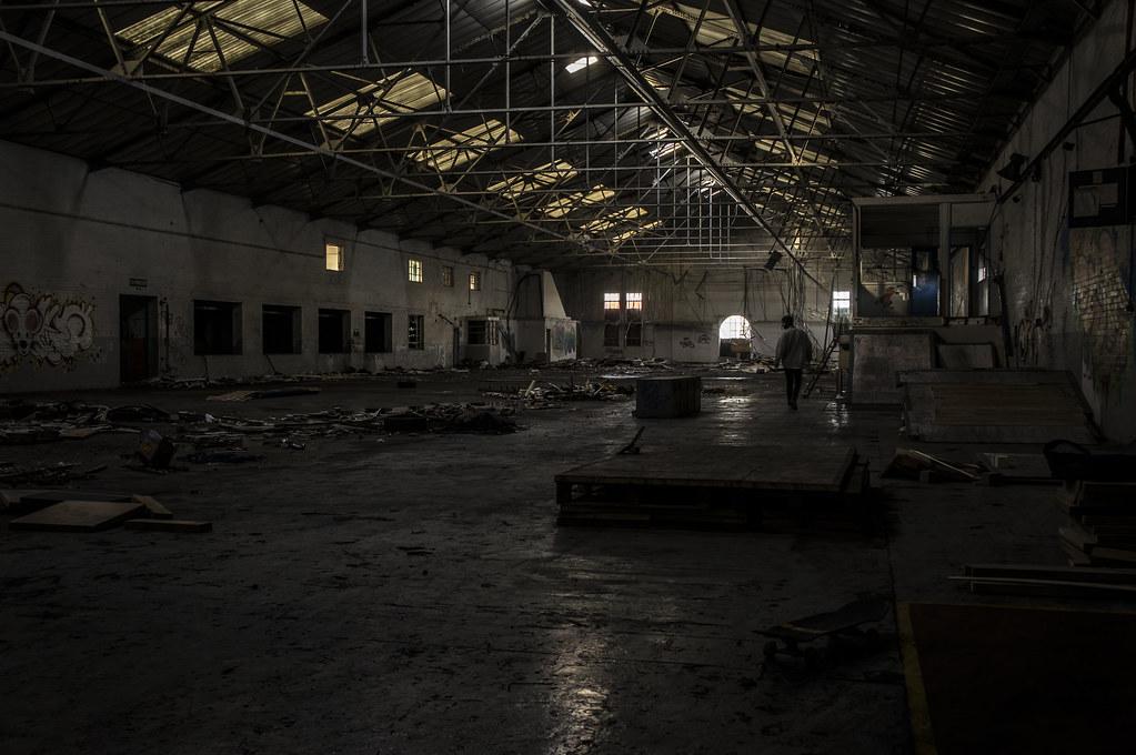 Abandoned Warehouse Skate Hideout Peterborough Uk