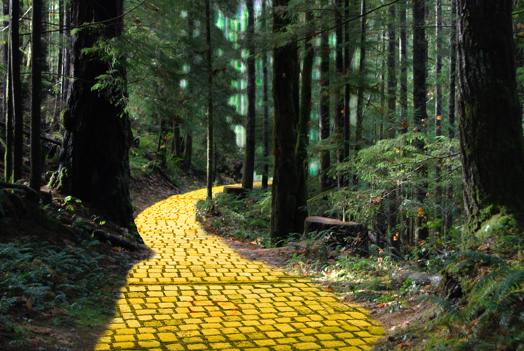 Yellow Brick Road Created For The Wpc Week 426 D N