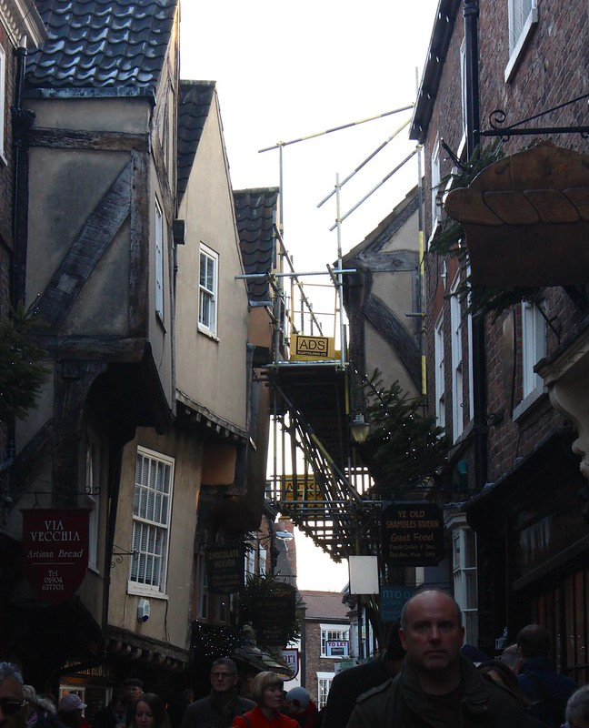 Scaffolding in the Shambles