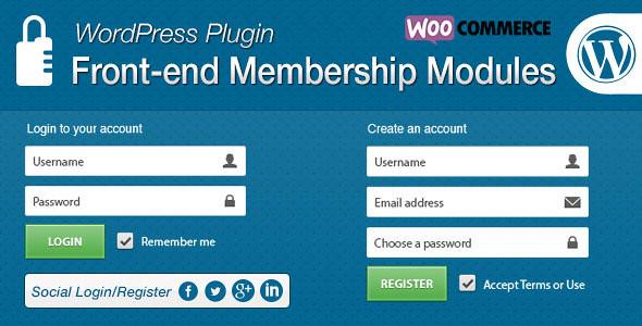 Codecanyon Front-end Membership Modules ver 1.4.6