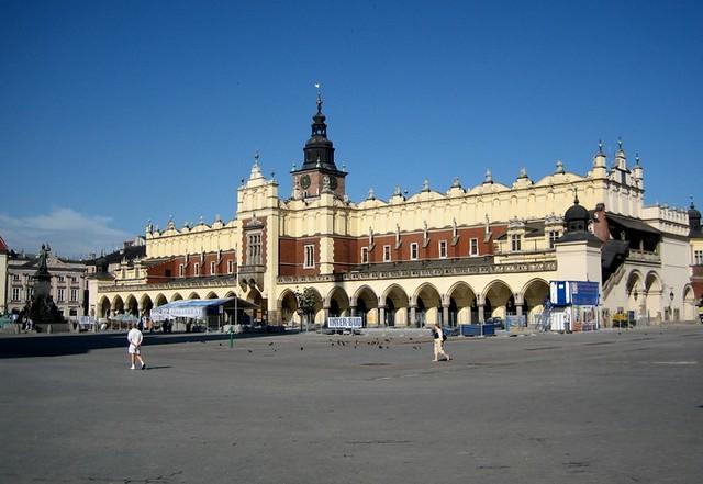 Que ver en la Plaza del Mercado de Cracovia
