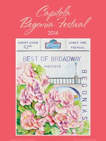 2014 - Begonias on Broadway