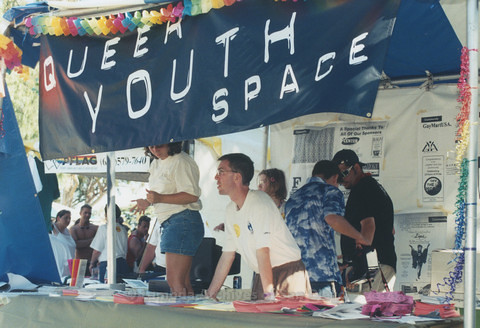 Youth Stage and Open Mic at San Diego LGBTQ Pride Festival, 1999