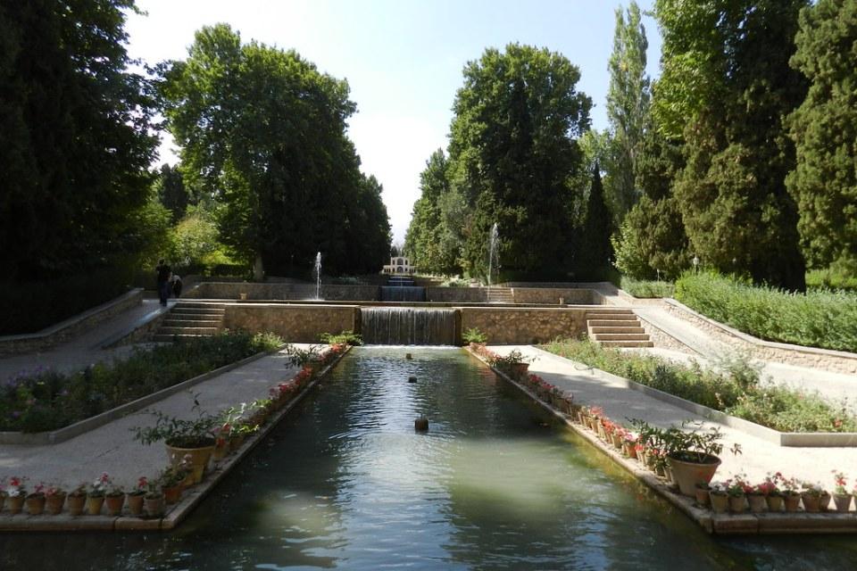 Jardín Shazdeh Jardín del Príncipe Bagh-e Shazdeh Mahan Irán 04