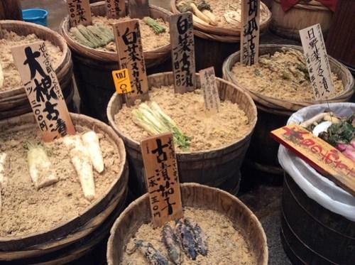 Veggies at Nishiki Market
