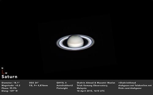 Saturn 19 Apr 2015 1215am MYT