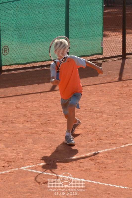 Tennis Europe Liepaja International tournament U12, 2015, August 31, 1st day