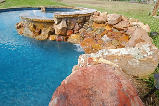 Allison Pools - Freeform Swimming Pool