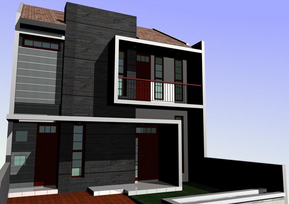 Desain Rumah Minimalis Modern Type 45 2 Lantai Topan Ali Flickr