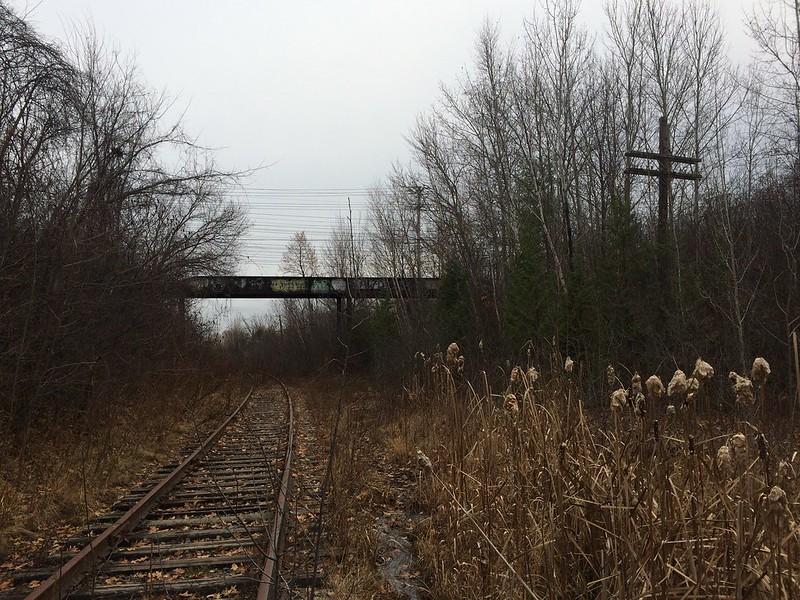Late Autumn landscape in Ottawa-Gatineau