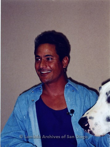 1995 - San Diego LGBT Pride Events: Grand Marshall and Gay Olympic Winner, Greg Louganis.